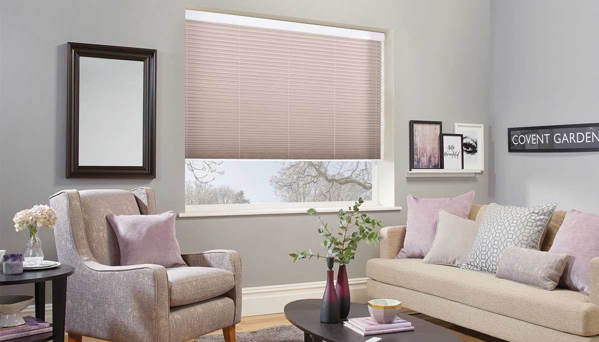 new pleated blinds