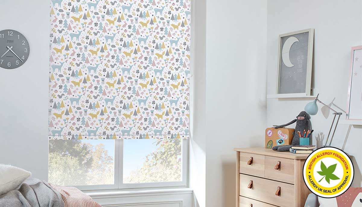 pollergen treated blinds
