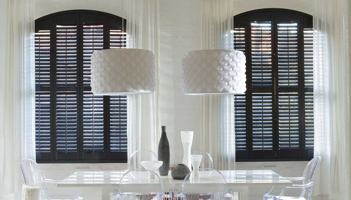 wooden style shutters
